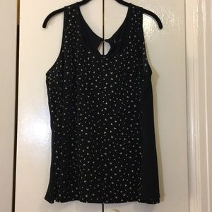 Lane Bryant size 18/20 black with triangles tank